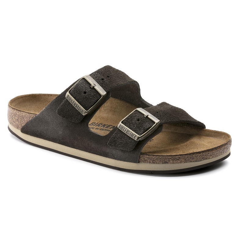 Birkenstock Arizona Brun softy comfort normal | Birkenstock sandaler