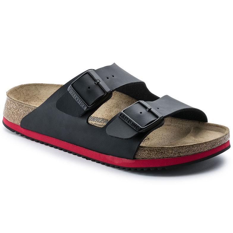 Birkenstock Arizona BF SL svart smal Prof | Birkenstock sandaler