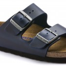 Birkenstock Arizona SFB Blå skinn normal myk thumbnail