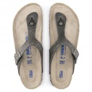 Birkenstock Gizeh SFB oljet skinn, Artic old iron, myk normal thumbnail