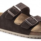 Birkenstock Arizona Steer Soft Brun skinn normal thumbnail