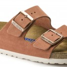 Birkenstock Arizona SFB Earth red semsket skinn smal myk thumbnail