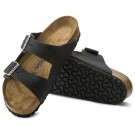 Birkenstock Arizona SFB Sort Oljet Skinn normal myk thumbnail