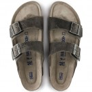 Birkenstock Arizona SFB Arctic Old Iron oljet skinn myk normal thumbnail