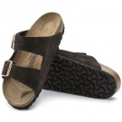 Birkenstock Arizona Mocca semsket skinn normal thumbnail