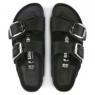Birkenstock Arizona Big buckle svart skinn smal thumbnail