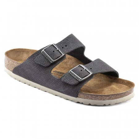 Birkenstock Arizona Steer Soft Grå skinn normal