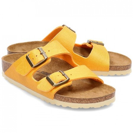 Birkenstock Arizona Saddle gul