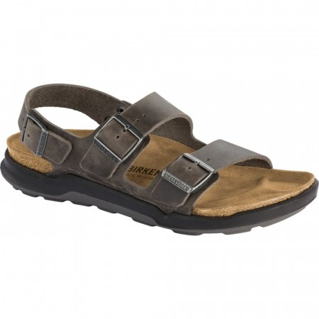 Birkenstock Milano CT Cross Track Iron oljet skinn normal
