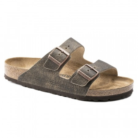 Birkenstock Arizona Vintage brun skinn normal