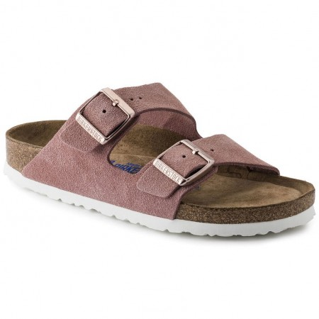 Birkenstock Arizona SFB Rose semsket skinn normal myk