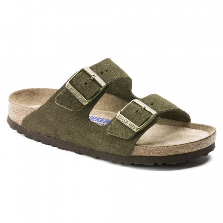 Birkenstock Arizona SFB Forest semsket skinn normal myk