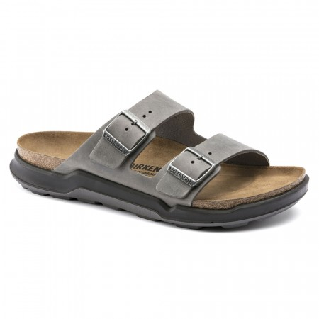 Birkenstock Arizona CT Cross Track Iron skinn normal