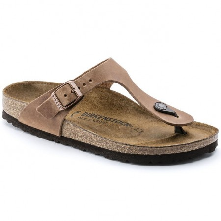 Birkenstock Gizeh Antikk skinn normal