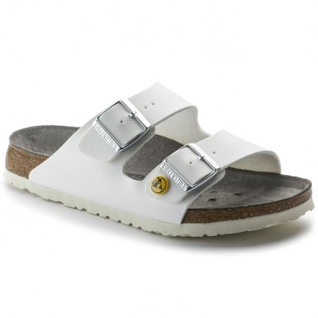 Birkenstock Arizona ESD BF hvit pro normal