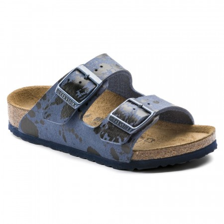 Birkenstock Arizona Color Sprays Blå Mikrofiber