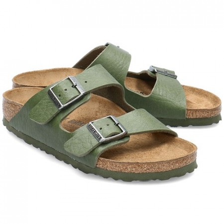 Birkenstock Arizona Saddle grønn