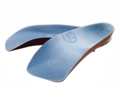 Birkenstock halvsåle - Blue footbed normal