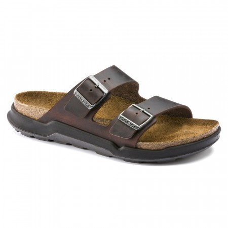 Birkenstock Arizona CT Cross Track Habana skinn normal
