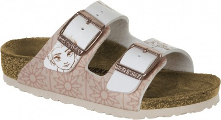 Birkenstock Arizona Frozen elsa rose hvit