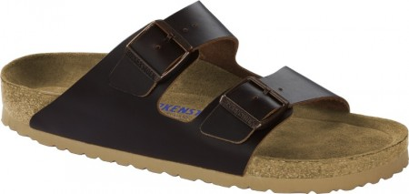 Birkenstock Arizona SFB Antique Espresso skinn normal myk