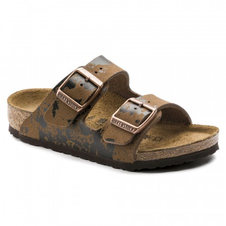 Birkenstock Arizona Color Sprays Brun Mikrofiber