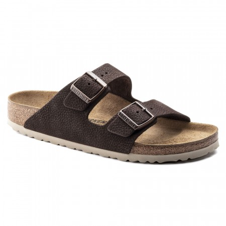 Birkenstock Arizona Steer Soft Brun skinn normal